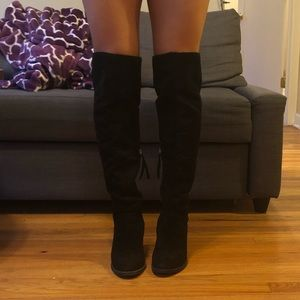 Dolce Vita Over the Knee Heeled Boots
